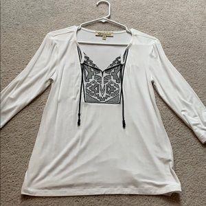 White blouse!!